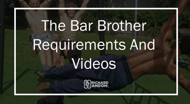 The requirements to become an official bar brother and beginner requirements