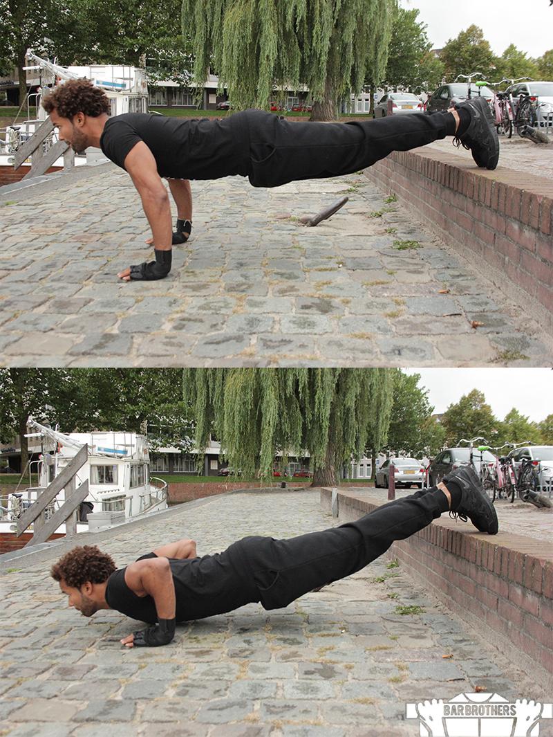 7 Beginner Push Ups For An Intense Calisthenics Chest Workout | Bar ...
