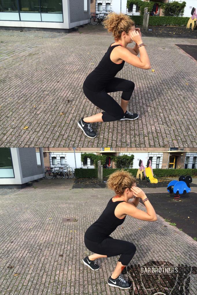Body weigth training for women 1