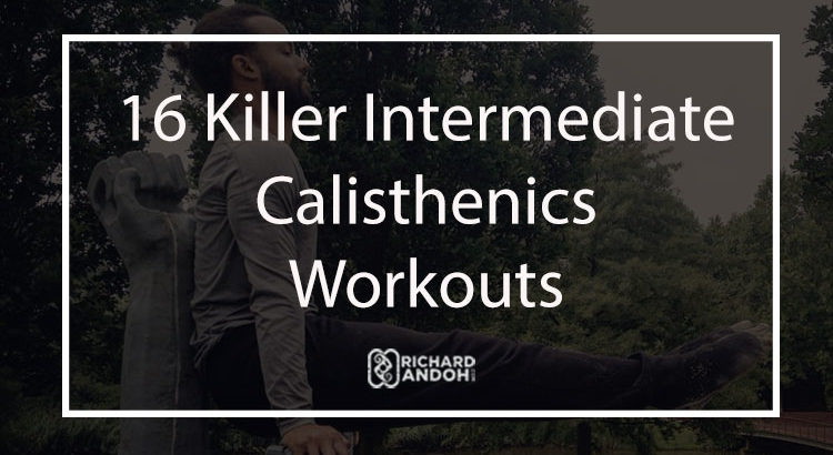 For More Advanced And Intermediate Calisthenics Workouts Training