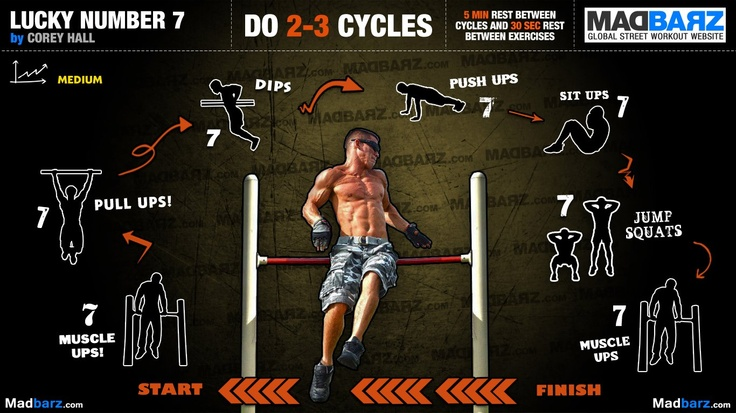 Intermediate Lucky Workout Plan