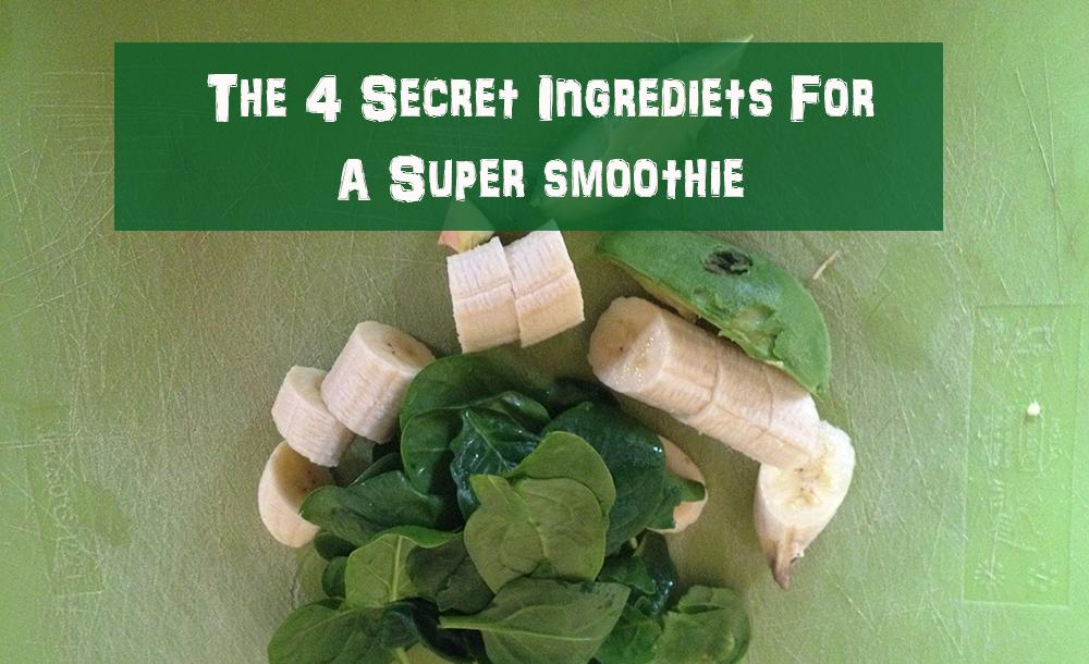 4 ingredients bar brother smoothie