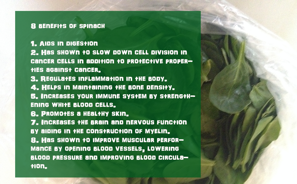8 benefits of spinach bar brothers