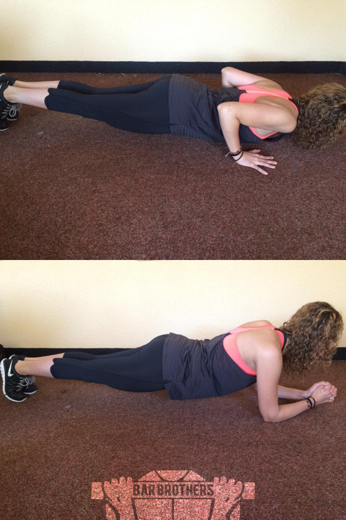 Plank Bar Sister Routine