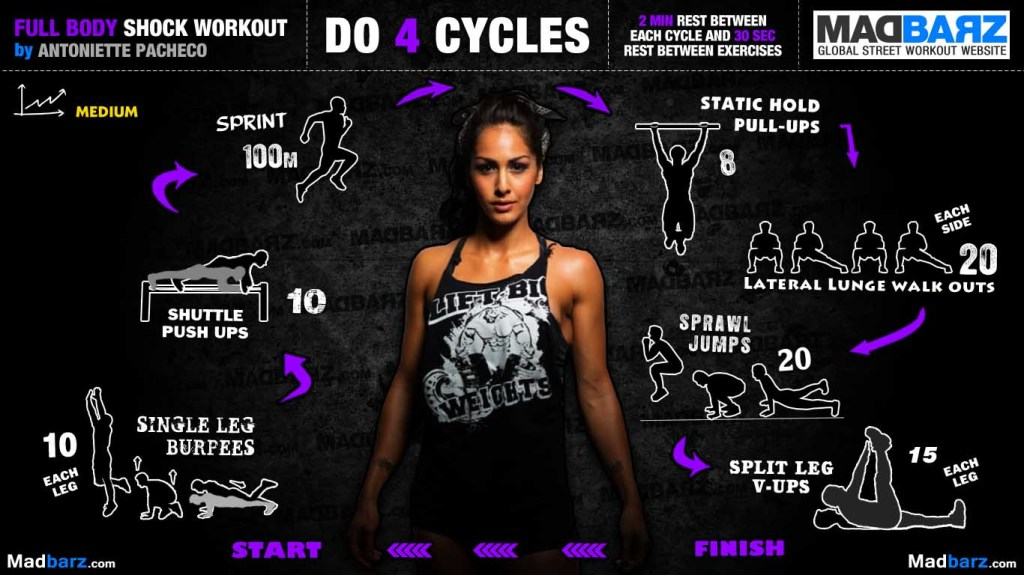 Female Body Weight Workout Bar Brothers