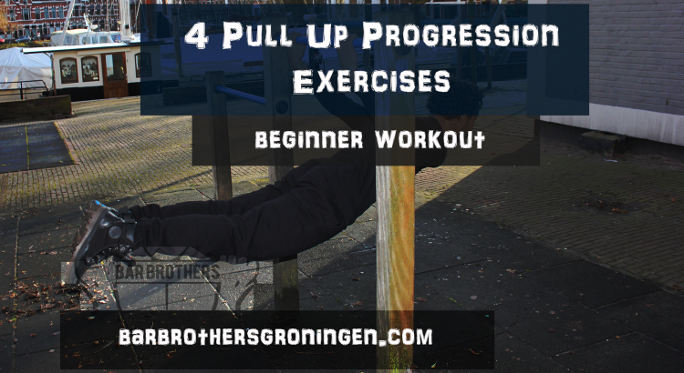 Pull up progression Bar Brother Beginners