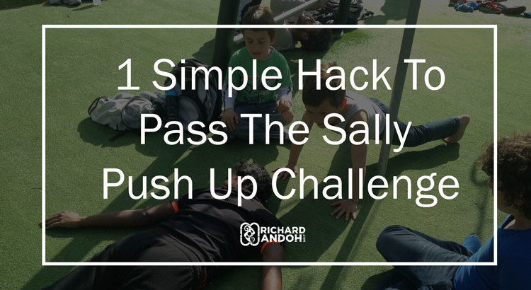 sally up challenge