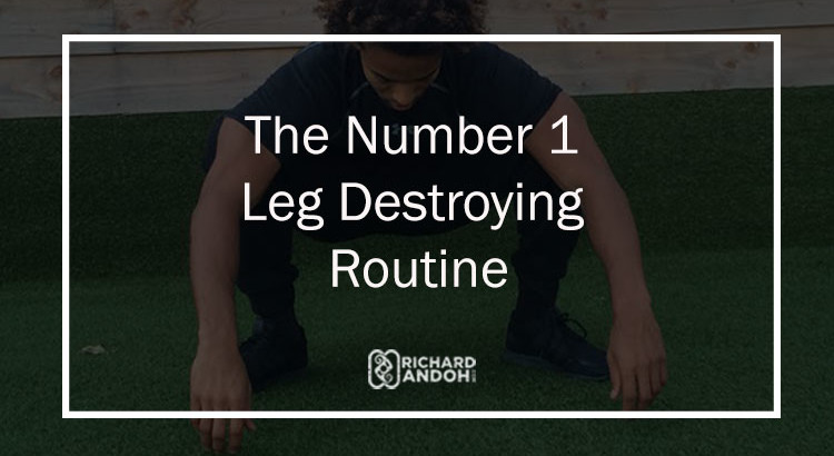 This leg routine will burn your legs to ashes