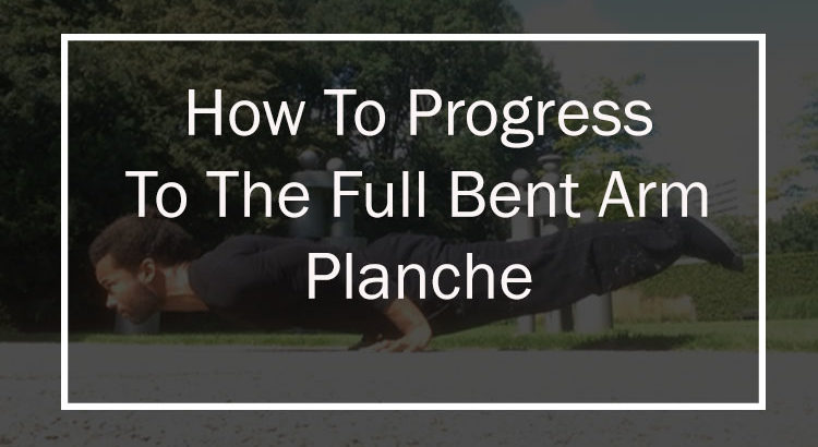 Learn the calisthenics planche with these moves