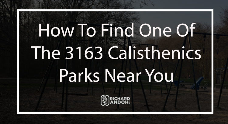 Finding the right park for calisthenics beginners